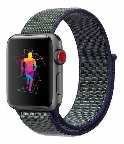 Correa Extensible Tipo Sport Nylon Para Apple Watch Series