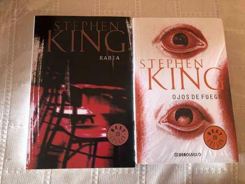 Libro Rabia Y Ojos De Fuego / Stephen King Envio Gratis