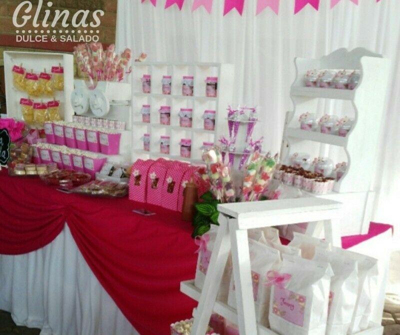 Mesa de dulces en puebla Glinas
