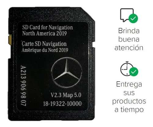 Nueva Tarjeta Sd Gps Para Mercedes Benz A