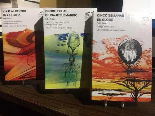 Pack 3 Julio Verne Veinte Mil Leguas Viaje Centro Tierra Env
