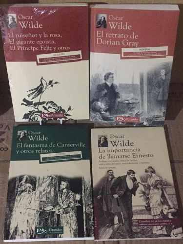 Retrato Dorian Gray +3 Más De Oscar Wilde 4 Libros Pack