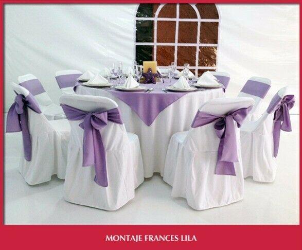 Sillas y mesas. en renta para eventos.