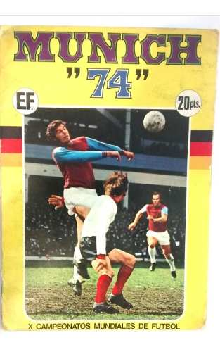 Album De Coleccion Futbol Alemania 74