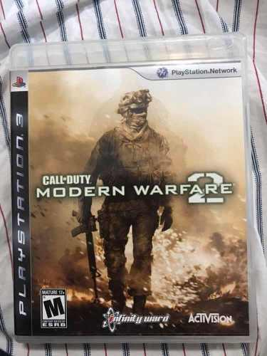 Call Of Duty Modern Warfare 2 (juegos Ps3)
