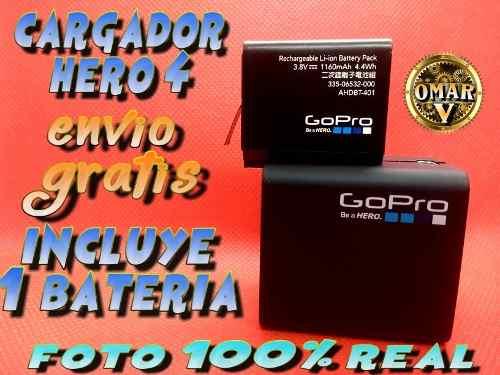 Cargador Y Batería Go Pro Hero 4