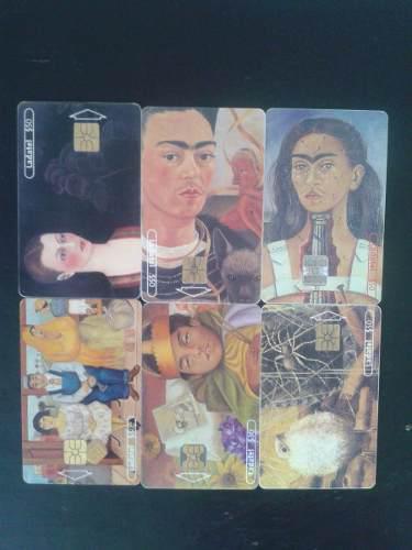 Colección Completa Tarjetas Telefonicas Ladatel Frida Kahlo