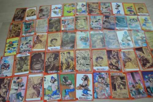 Coleccion De Tarjetas Memin Pinguin Mas De 50