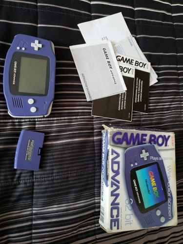 Gameboy Color Y Gameboy Advance Ambos En Caja Con Manuales
