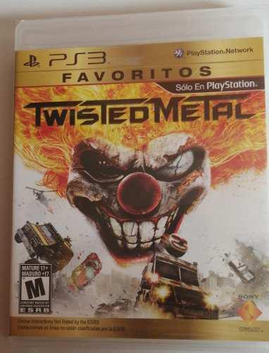 Juego Twisted Metal Ps3 Nuevo
