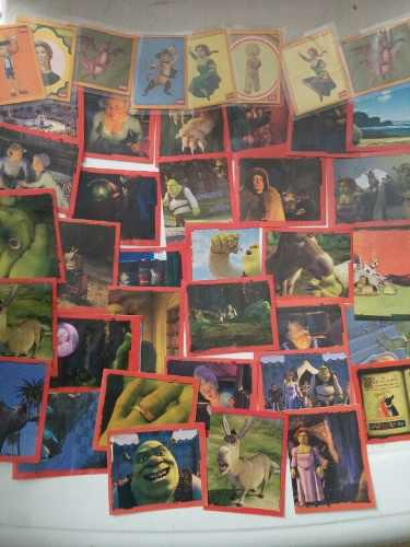 Lote 37 Estampas Del Album Shreck 2 Imagics Comercial Mexic