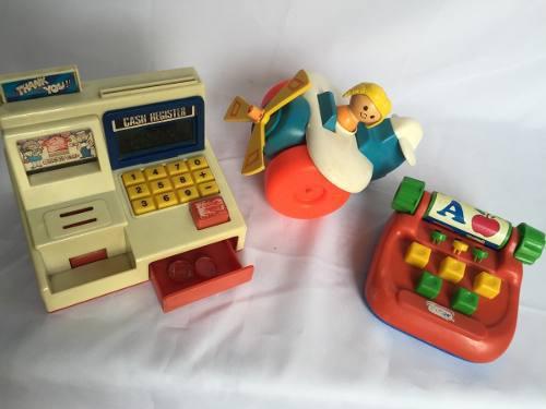 Lote Juguete Vintage, Antiguo De Los 80s Envio Gratis