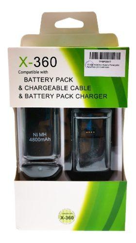 Mah Batería Recargable Para Xbox 360 Controlado