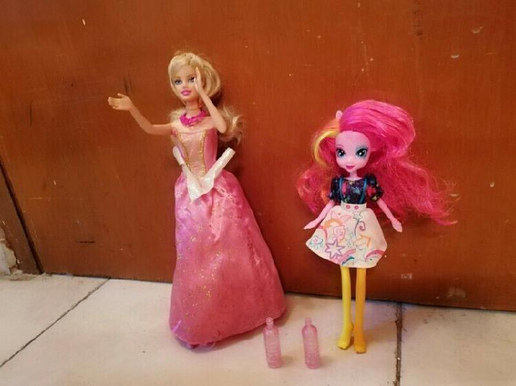 Muñeca My little pony y muñeca Barbie princesa