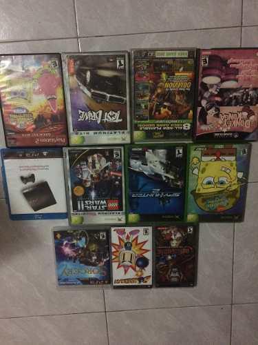 Paquete De Juegos Y Cajas Para Ps2, Ps3, Xbox, Cubo Y Psp