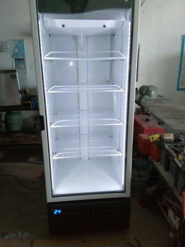 Refrigerador con vitrina