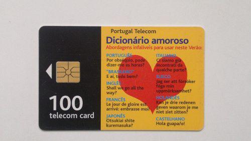 Tarjeta Telefónica De Portugal - Telecom Card