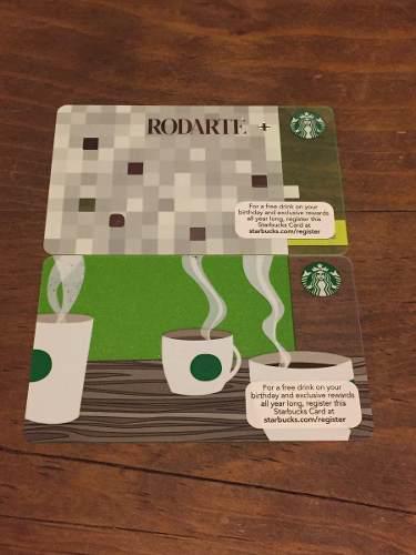 Tarjetas De Colección Starbucks De U.s.a