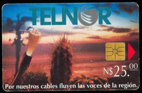 Tn11a Telnor Fibra Optica Y Cactus 25p Chip Gem