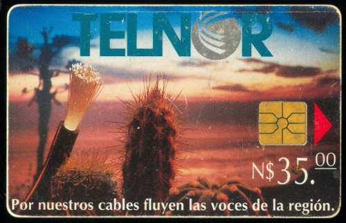 Tn12b Telnor Fibra Optica Y Cactus 35p Chip Gem