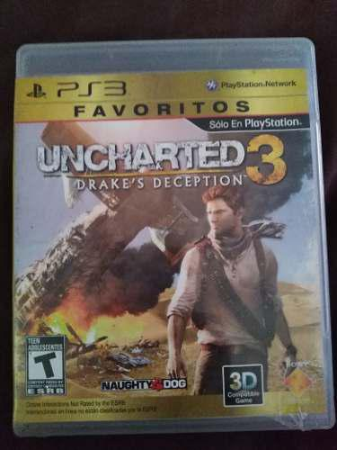 Video Juego Uncharted 3 Ps3