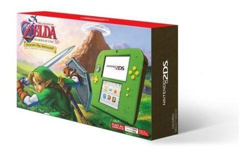 2ds Ed. Especial Zelda Con Zelda Ocarina Of Time Nuevo Sella