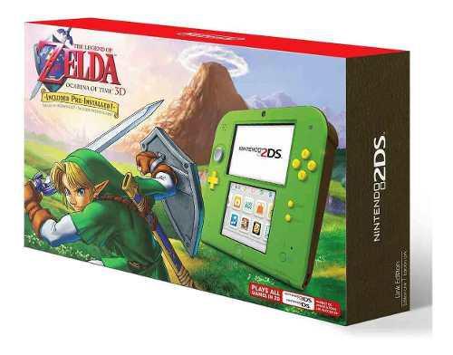 2ds Edicion Especial Zelda Ocarina Of Time Nintendo Unico