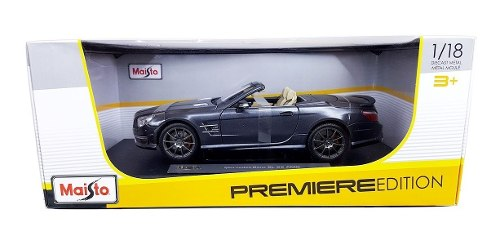Autos Escala Mercedes Benz Sl65 Amg P 1/18 Maisto Metal