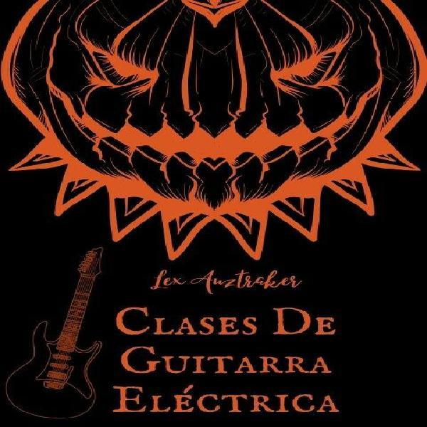 Clases de guitarra eléctrica a domicilio (Principiantes)