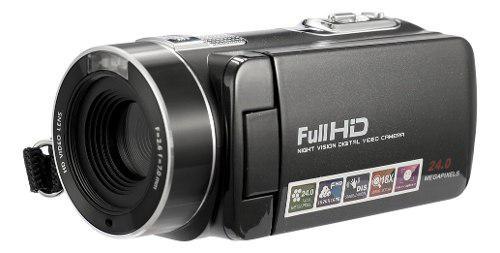 Cámara Digital Profesional 1080p Full Hd Visión Nocturna