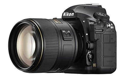 Cámara Nikon D850 Fx Slr Nikkor 105mm F/1.4e -negro