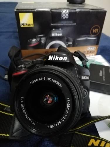 Cámara Nikon Digital D3200 Profecional