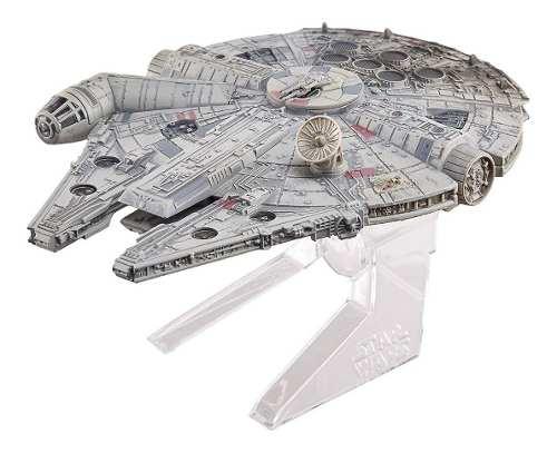 Coleccionable Hot Wheels Elite Halcon Milenario Star Wars