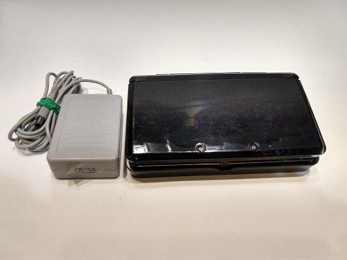 Consola 3ds Negro Con Base Cargador Y Pluma Garantía!!!
