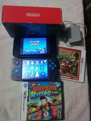 Consola New Nintendo 2ds Xl Excelente Estado En Caja Seminue