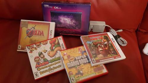 Consola Nintendo 3ds Xl En Excelentes Condiciones