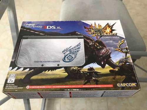 Consola Nintendo New 3ds Monster Hunter 4 Ultimate Edition!!