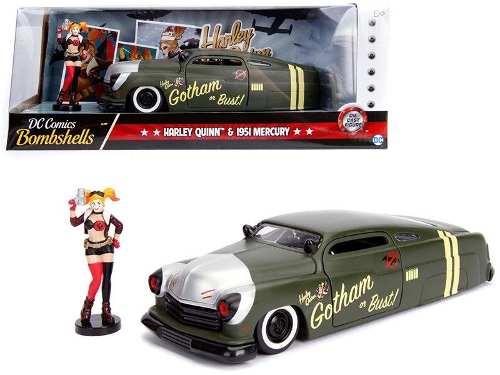 Dc Comics Harley Quinn &  Mercury Matt Green 1:24 Jada