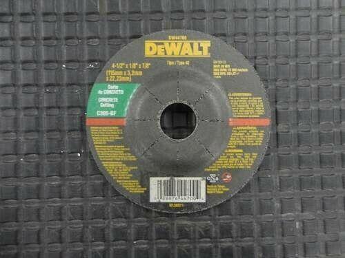 "Disco de desbaste Dwalt 4 1/2"" y 7"""