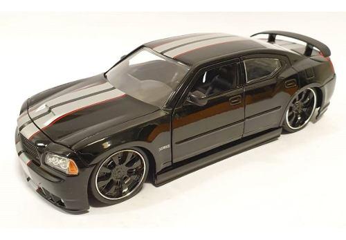 Dodge Charger Srt Negro 1:24 Jada Sin Caja