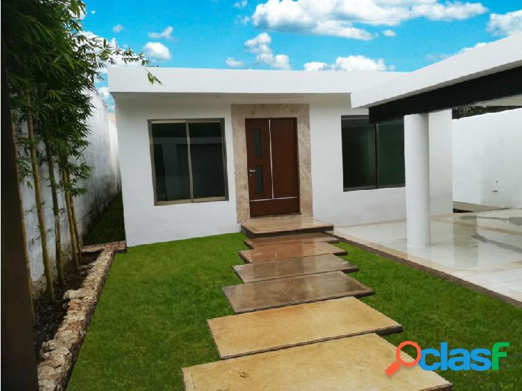 Espectacular Casa en Nueva Yucatán