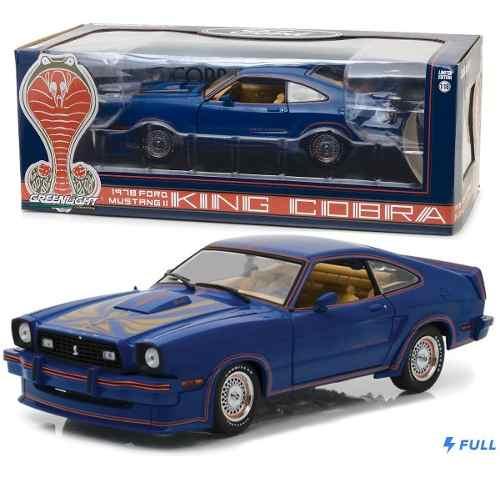 Ford Mustang Ii King Cobra Blue Greenlight 1:18 Oferta