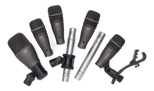 Kit Samson De Micrófonos Para Bateria 7 Piezas Mod. Dk707