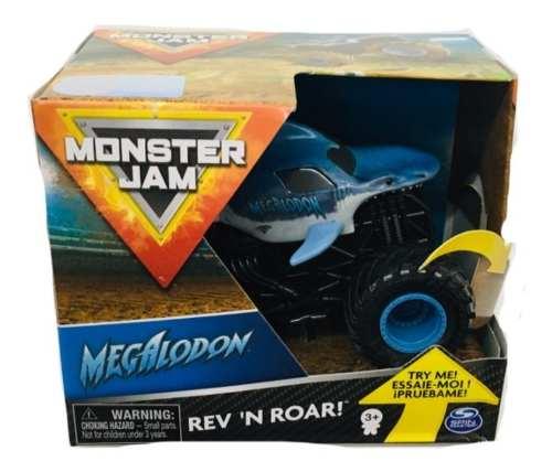 Monster Jam Carro De Friccion Spin Master