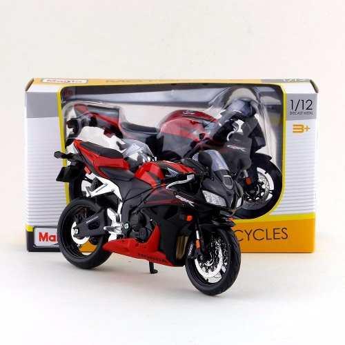 Moto De Colección Honda Cbr600rr Roja Escala 1:12 Maisto