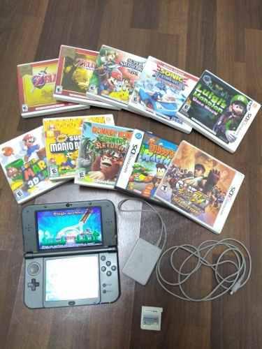 New Nintendo 3ds Xl Con 12 Juegos Fisicos