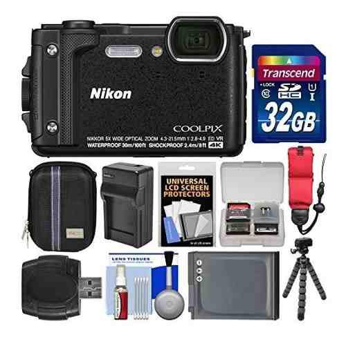 Nikon Coolpix W300 4k Wi-fi Shock Y Cámara Digital Resisten