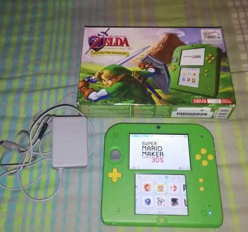 Nintendo 2ds Edición Especial Zelda
