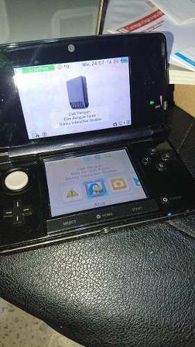 Nintendo 3ds Cosmo Black En Buen Estado Von Caja Manual 2gb