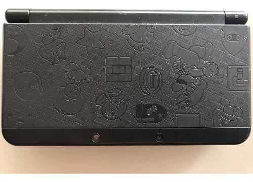 Nintendo 3ds Edicion Mario Black Seminvo(con Juegos Pokemon)